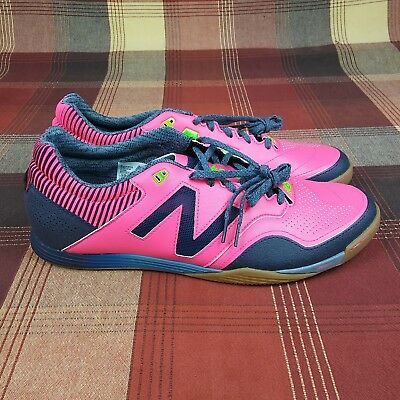 3ba3ef61b15f7 NEW BALANCE Audazo 2.0 Pro Indoor Soccer Shoes Pink Men's Size 12.5 Retail  $100