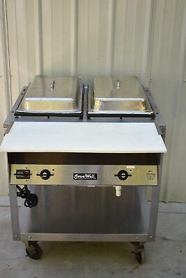 VOLLRATH SERVEWELL Well Steam Table PicClick - 2 well steam table
