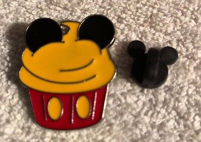 Disney Trading Pin - Mickey Mouse Inspired Cupcake Shape