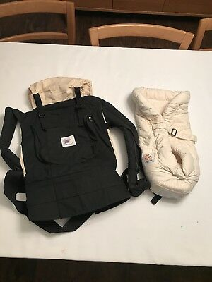 Ergo Baby Carrier Original With Infant Insert 50 00 Picclick