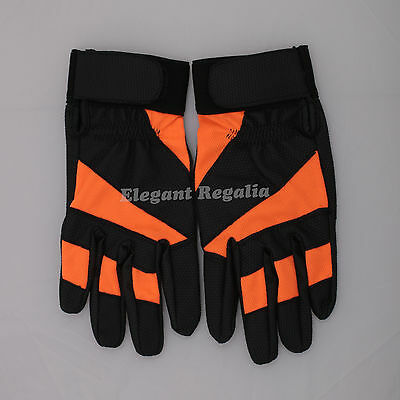 New Black Orange Weight Lifting Gym Fitness Workout Training Exercise Full Glove