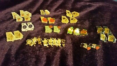 Lot of 34 vintage state of Georgia hat/lapel pins. New never worn.