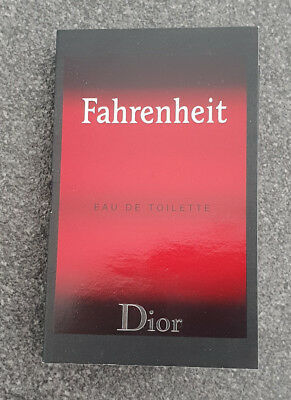 Dior - Fahrenheit _ Parfümprobe _ Probe _ for men