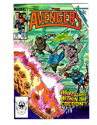 AVENGERS #263 in VF/NM condition a 1986 Marvel comic The return of JEAN GREY