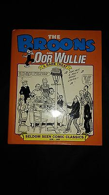 The Broons And Oor Wullie A Rare Treat Vintage Comic Hardback Annual (2001)