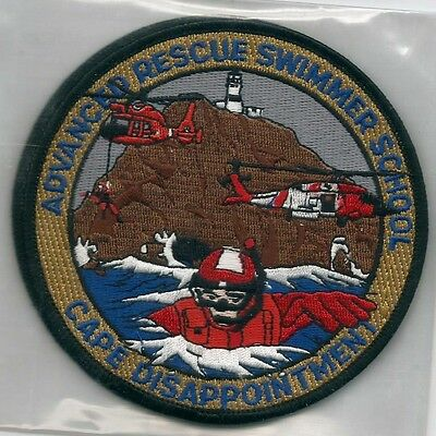 USCG United States Coast Guard patch Cape Disappointment Washington 4-3/8 in dia