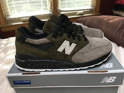 "new products 4a92b 1bdc1 NEW BALANCE 998 x Todd Snyder ""Dirty Martini"" size US 10"