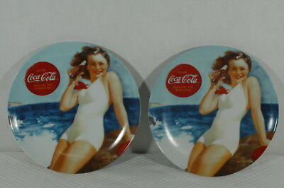 Pair of Coca-Cola Plates