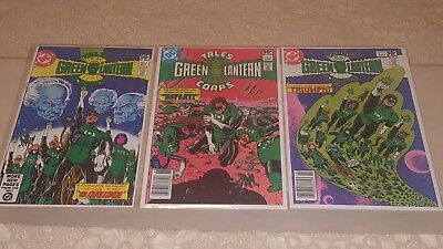 Tales of the Green Lantern Corps #1, 2,3  1981 DC Comics