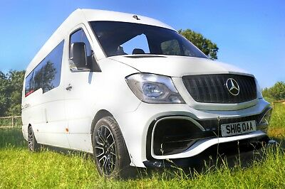 2013 - On Mercedes Sprinter Front Bumper / Grill Custom Front End / Body Kit