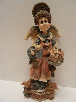 BOYDS COLLECTION AUNTIE CoCOA M MAXIMUS..THE CHOCOLATE ANGEL NUMBERED