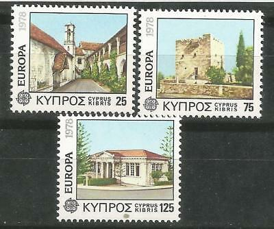 Cyprus Cyprus EUROPE cept 1978 Without Fijasellos MNH