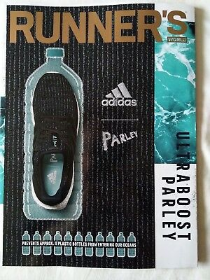 Runner's World magazine August 2018 (Ultraboost Parsley) (running fitness)