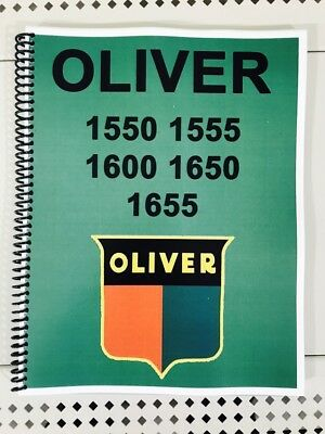 1650 Oliver Tractor Technical Service Shop Repair Manual