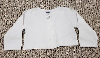 35adbe827 BABY INFANT GIRLS Carter s Size 3 Months Zip Up Sweater -  2.99 ...