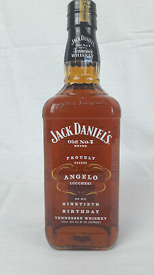Jack Daniel's Angelo Lucchesi 90th Birthday Edition 45% Vol. 0,75 l