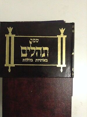 TEHILLIM BOOK OF Psalms Tehilim Hebrew jewish Bible Prayer