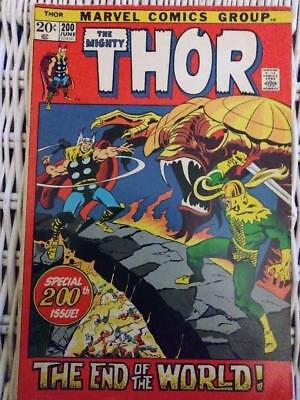 Marvel  Thor #200 Bronze Age Special 200Th Edition!