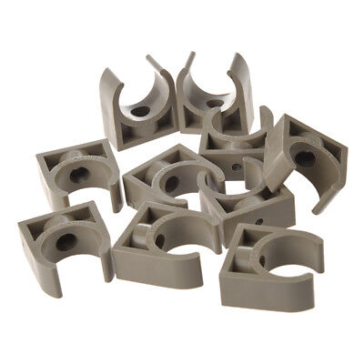 10 Pcs 25mm Diameter PPR Water Supply Pipe Clamps Clips Fittings X7M9