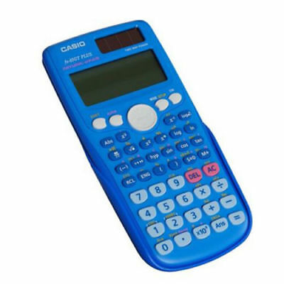 Casio FX-85GT PLUS-BU Dual Powered Scientific Calculator Blue K28-30