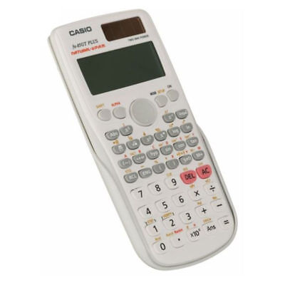 Casio FX 85GT Plus Scientific Calculator 260 Functions + Hard Case, White K28-30