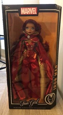 Marvel Madame Alexander Collection Fan Girl Doll Inspired By Iron Man NWT
