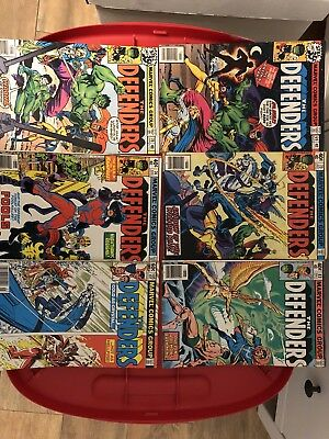Defenders Marvel Bronze Age Comic Lot: 14 Issues