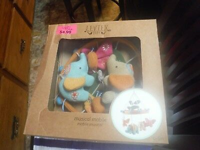 NEW!! Levtex Home Baby Lullabies Zahara Mobile New in Damaged Box