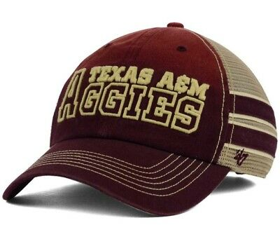 big sale c02ae d34e1 Texas A M Aggies 47 Brand Big Letter Snap Back Hat Cap SEC NCAA