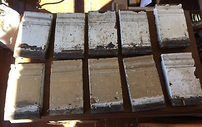 1 Antique Wood Plinth Block Door Window Trim 10 Available Repurpose