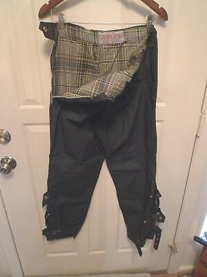 Barbour- Vintage International  Lightweight Motorcycle Trousers- Rare- Small