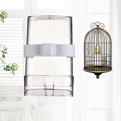 Automatic Pet Bird Cage Water Drinker Feeder Bottles Finches Canary Budgie Birds