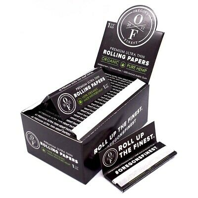 """CAN*ADIAN LUM*BER 1.0"""" Wood Cigarette Rolling Papers 25 booklets Double Window"""