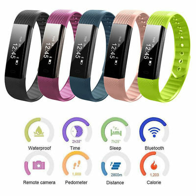 Fitness Activity Tracker Smart Health Sports Gym Wrist Watch Band Android iOS UK