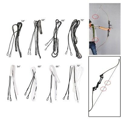 Archery Accessories Recurve Bow Longbow Dacron Bow strings Handmade Various Size