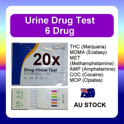 20x Urine Drug Test Screen Testing Kit THC (Marijuana) MET Amphetamines Ecstasy