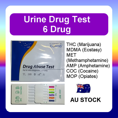 Urine Drug Test Screen Testing Kit THC (Marijuana) MET Amphetamines Ecstasy