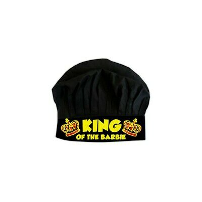 King of the Barbie Chef Hat - Free Shipping - Novelty Chef Hats