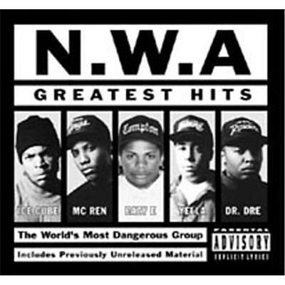 NWA GREATEST HITS 2 Extra Tracks REMASTERED CD NEW Explicit Edition