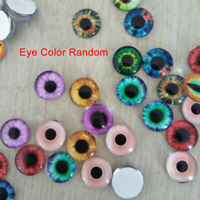 10MM/16MM/20MM Glass Eyes Kit For Needle Sewing Felting Bear DIY Doll 20Pcs
