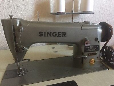 196K Singer Sewing Machine Leather Industrial