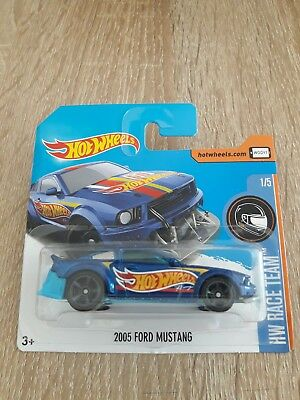 2005 Ford Mustang Race Team Hot Wheels 2017