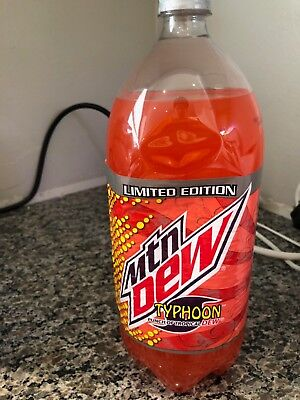 Mountain Dew Typhoon 2L Unopened