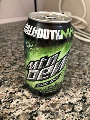Mountain Dew Game Fuel Tropical Unopened Can