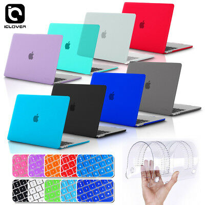 Soft Touch Shell Case+Keyboard Cover for Macbook Pro 13 15 Retina 2013 2014 2015