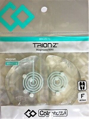 Trion Z Maginsole Mini Magnetic Ionic Clear with White magnets  NEW!!