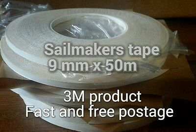 Sailmakers double sided tape for all fabrics, art and crafts. 9mm x 50 m