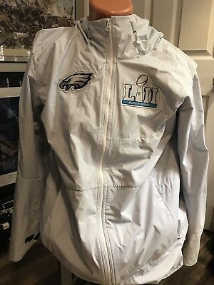 online store eecbf 39b9c NEW NIKE PHILADELPHIA Eagles Super Bowl 52 Media Full Zip Jacket MSRP 350  Wentz
