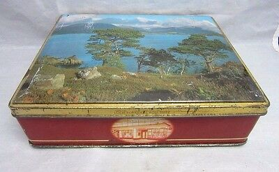 Chivas Bros tin litho from Scotland. Loch Torridon Ross-Shire