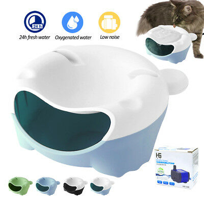 Anti Choking Automatic Electric Cat Dog Bowl Water Chargeable USB for Pets Drink
